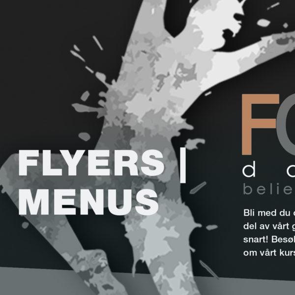 Flyers | Menus